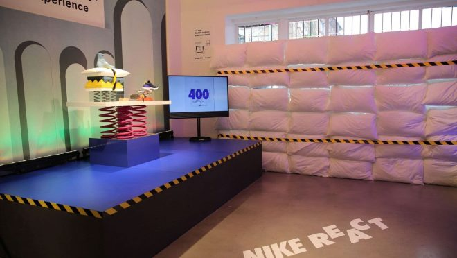 Nike Lancio Nike React